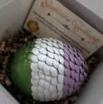 Genderqueer Dragon Egg - Pride Flag Series