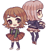 Chihiro And Chiaki by meltytoast