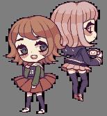Chihiro And Chiaki by meltytoast