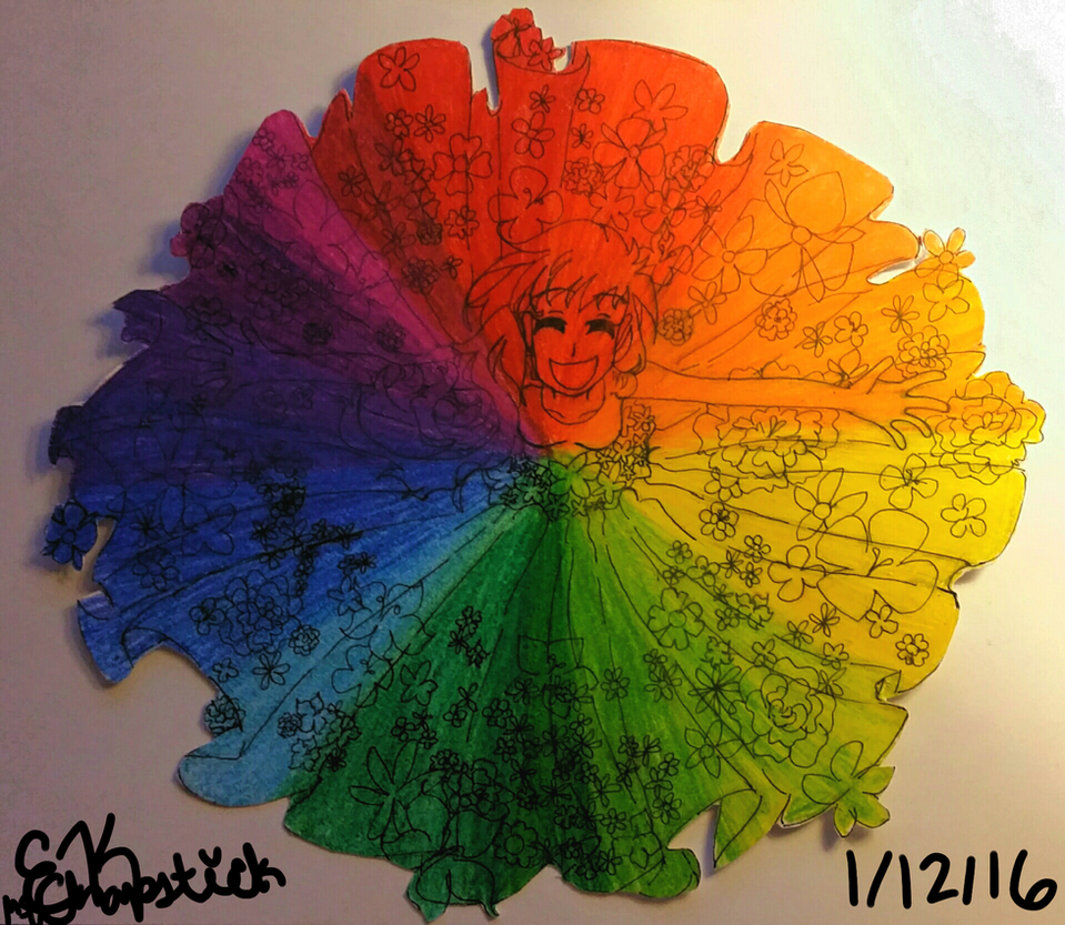 Creative Color Wheel by MsChapstick