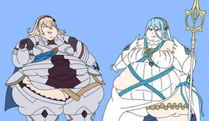 I dont have a title its just fat corrin and azura