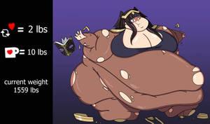 Tharja weight gain drive part - 3