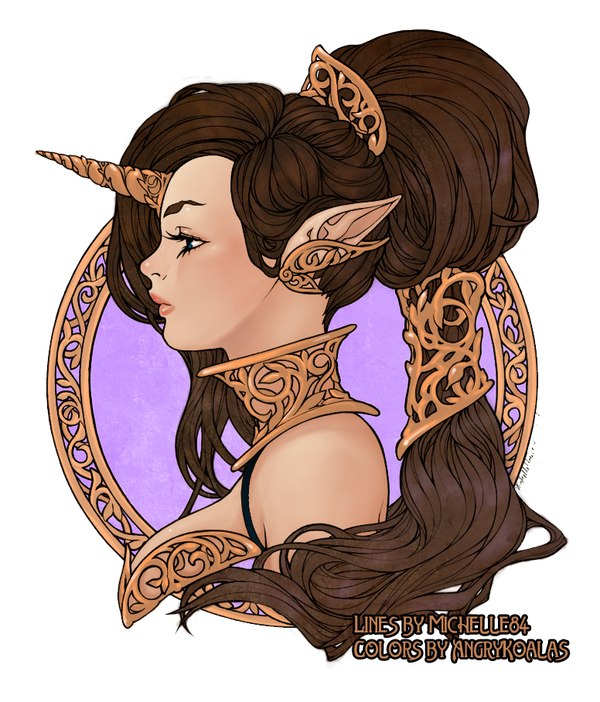Iridae  Colored by AHussein