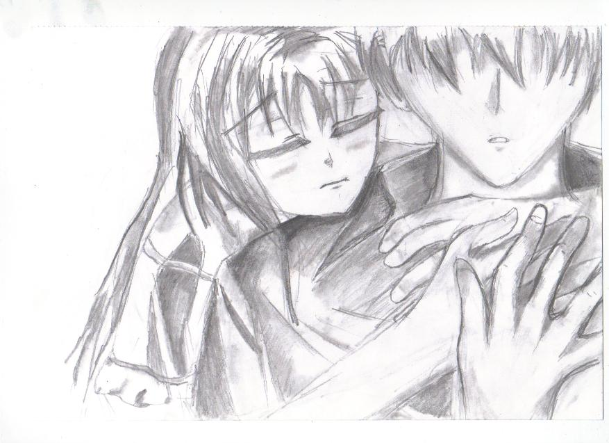Hug from behind by mikuhatsune444 on DeviantArt