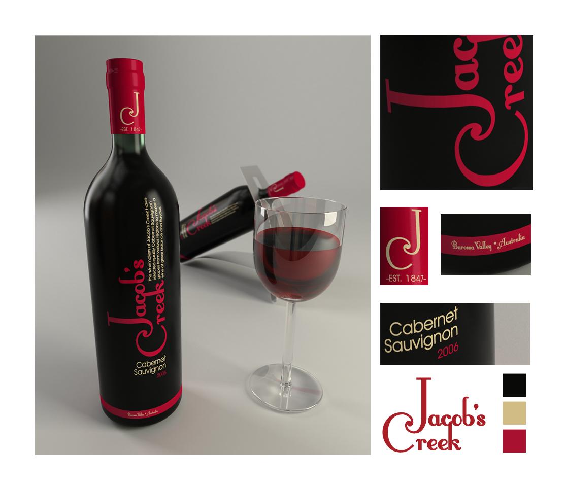 Jacob's Creek Redesign by TreborDesigns