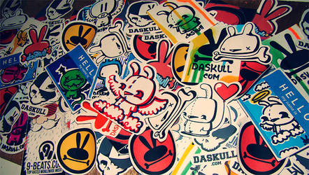 DASKULL STICKERS II