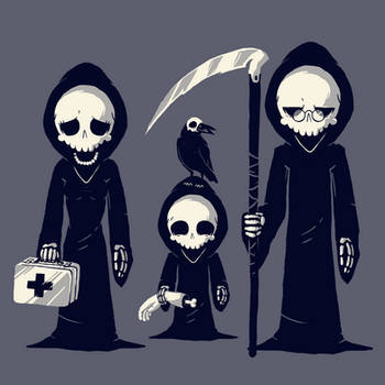 Grim Family by daskull