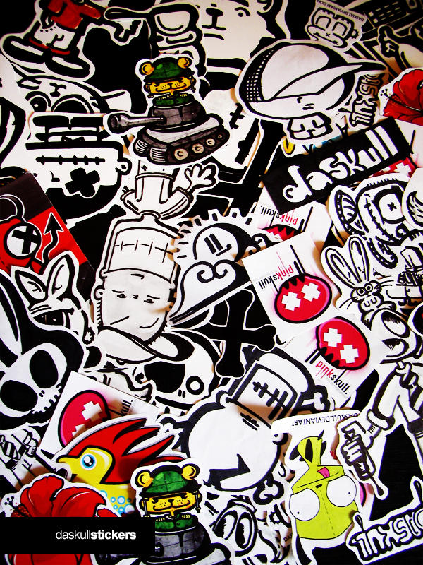Daskull stickers by daskull