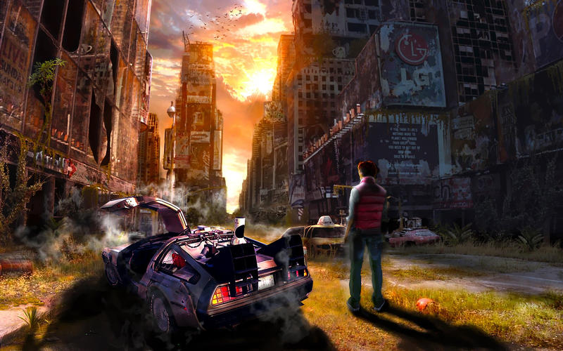 Back To The Future By Rcorron On DeviantArt