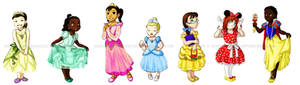 Walt's Little Princesses