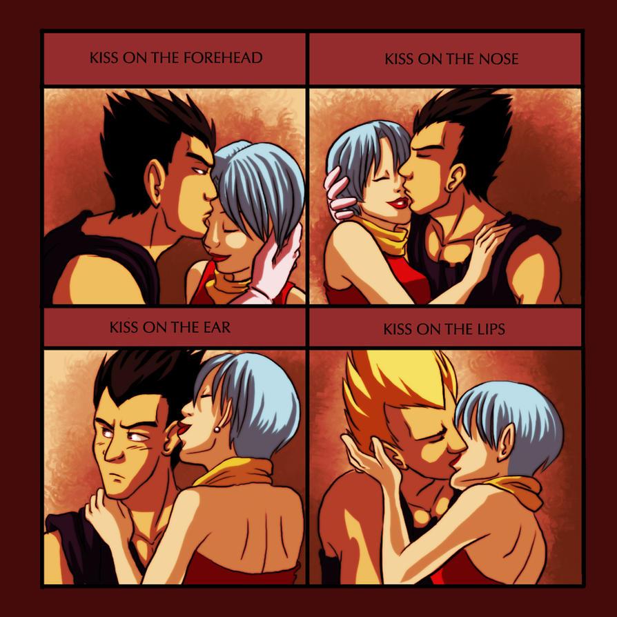 Kiss Meme VegetaXBulma by Silverwingfox