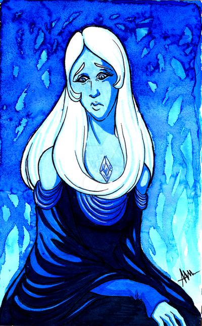 Blue Diamond by Silverwingfox