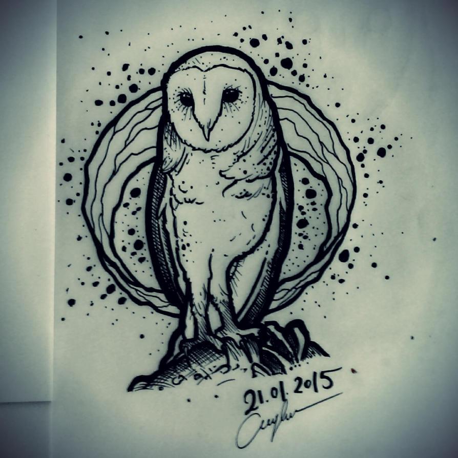 Fun Drawing Owl By Ccarringtonn