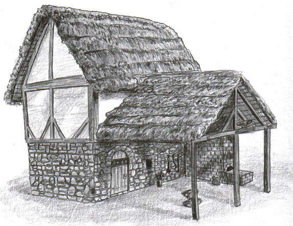 The Gallery For Gt Medieval Blacksmith Shop