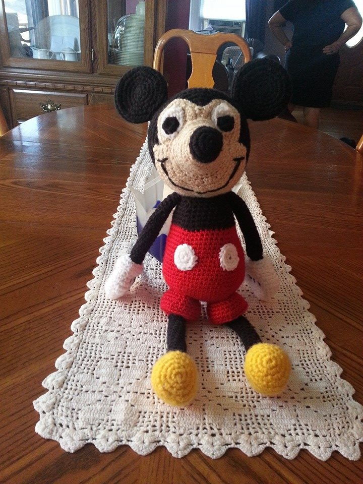 Mickey Mouse Amigurumi by GabbyCrochetBoutique on DeviantArt