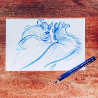 Beast sketch II by lilyrjensen