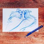 Beast sketch II