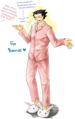 PW: Pink PJs