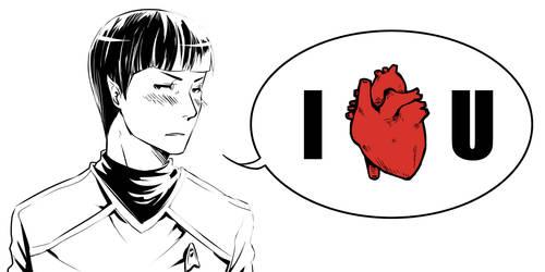 ST: I heart U by CanneDeBonbon