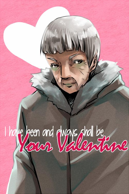 ST: Your Valentine by CanneDeBonbon