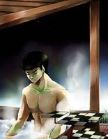 ST: Hot Tub by CanneDeBonbon