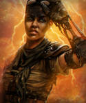 Imperator Furiosa of Mad Max: Fury Road