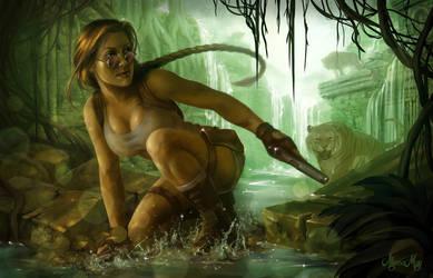 Tomb Raider - Fan Art Fifteenth by minielche