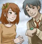 Autumn couple