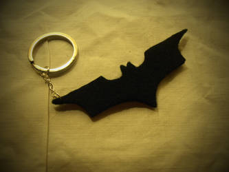 Batman Keychain by Trelela