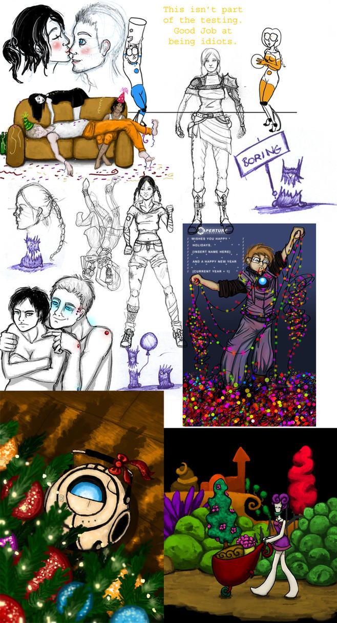 doodle dump 2011-2012 by Trelela