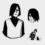 Sasuke from Boruto sketches