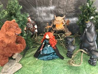 Brave diorama by DramaDollLover