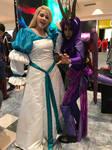 Odette and Spyro