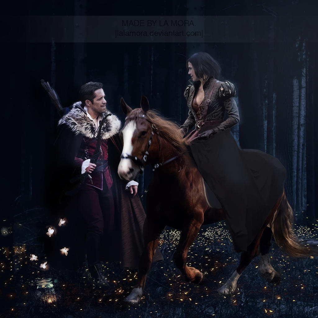 Lucifer Once Upon A Time: Regina With Robin By LaLaMora On DeviantArt