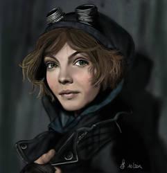 Selina Kyle Gotham by Saryetta86