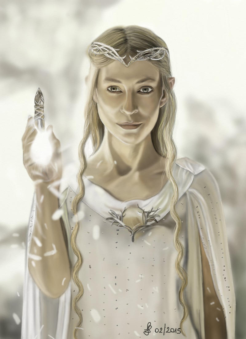 Lord Of The Rings Characters Elf Princess