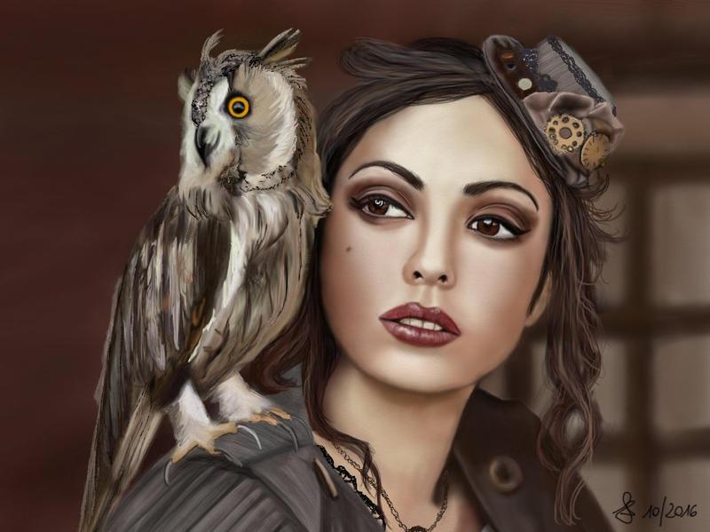 Owl by Saryetta86