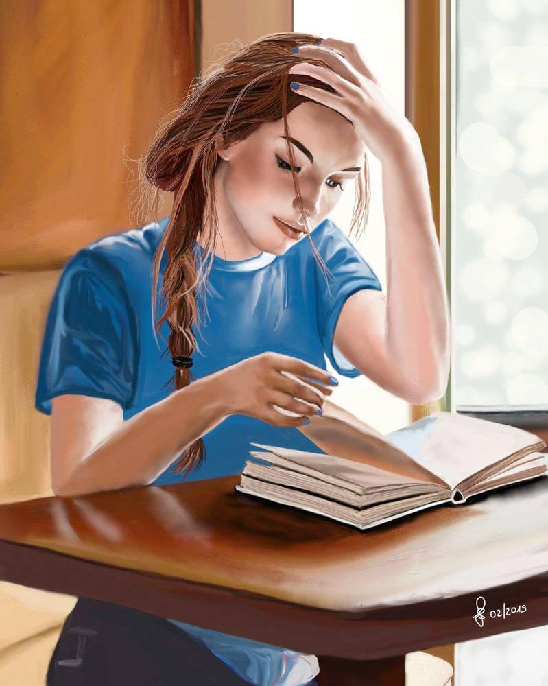 Pleasant reading by Saryetta86