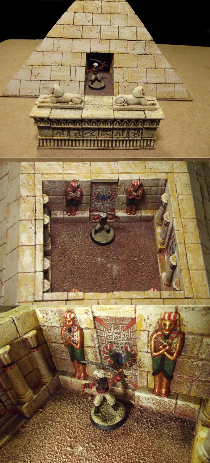 Pyramid-Raiding Corsair by JordanGreywolf