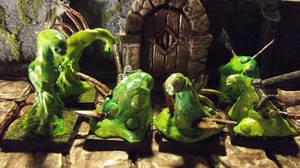 Warcraft: Slimes by JordanGreywolf