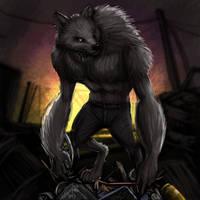 Junkyard Dawg by JordanGreywolf