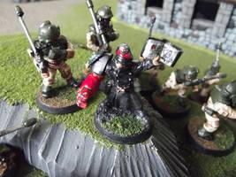 Rogue Trader-era Imperial Guard Commissar