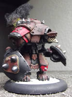 Khador: Kodiak Warjack by JordanGreywolf