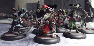Warmachine Undead Pirate Horde! by JordanGreywolf