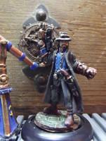 Reaper #80005 Andre Durand, Gatling Gunslinger by JordanGreywolf