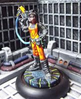 Reaper #80008 - Rosie, Chronotechnician by JordanGreywolf