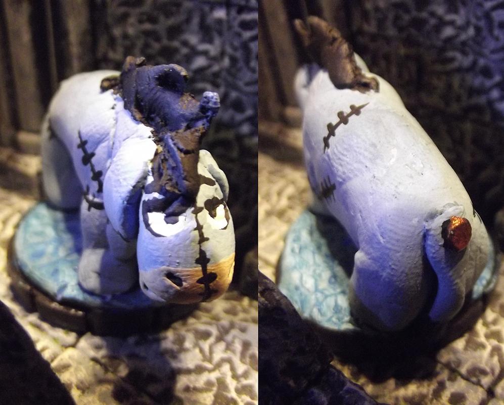 Iyor, the Patchwork Minion by JordanGreywolf