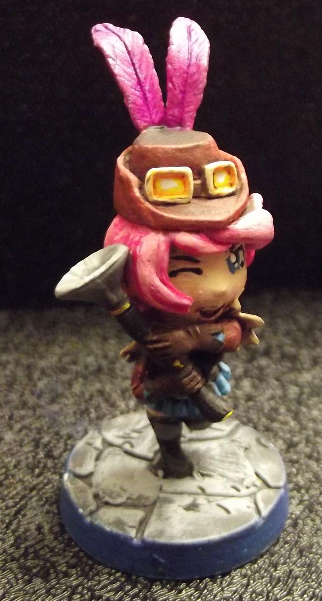 One-Shot, Steampunk/Fantasy Huntress by JordanGreywolf