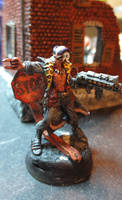 Damien, Post-Apocalyptic Mutant Ganger (conversion by JordanGreywolf