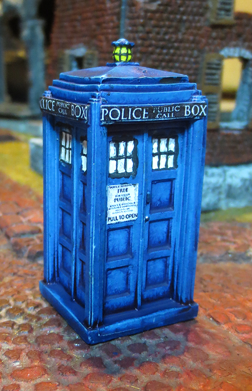 1960s-style Police Call Box by JordanGreywolf
